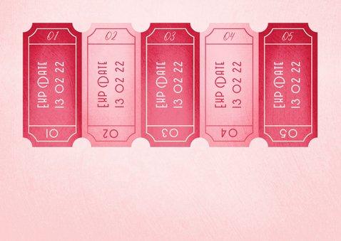 Valentijnskaart naughty coupons uitknipbaar 2