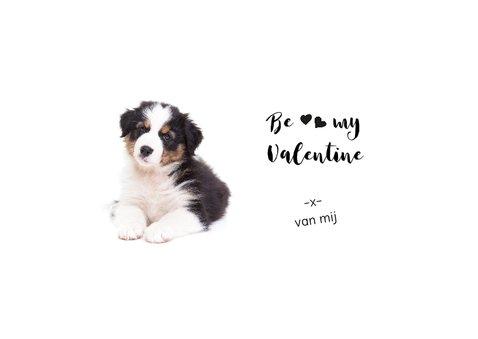 Valentijnskaart - Puppy - Dreaming of you! 3