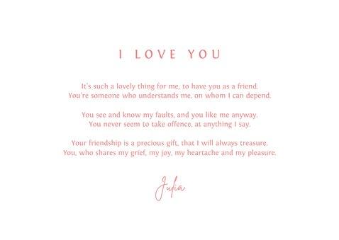 Valentijnskaart thank you bedankt vriendschap i love you 3