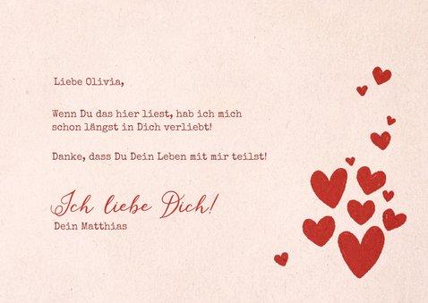 Valentinskarte Love Songs Kassette 3