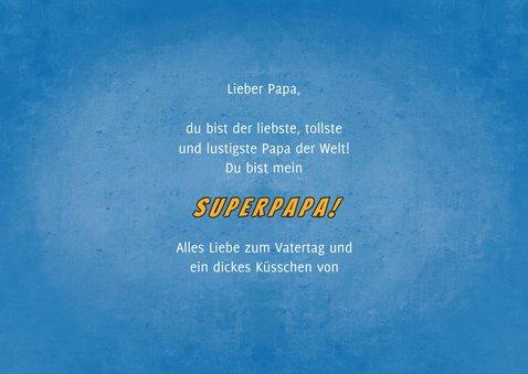 Vatertagskarte mit Fotos Superdad 3