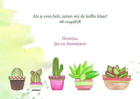 Verhuisbericht met cactussen 3