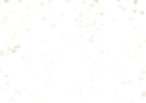 Verhuiskaart kerst liggend met huisje - BK 2