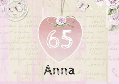 verjaardag Anna hart 2