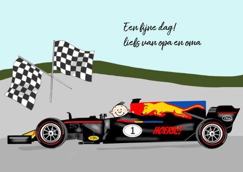 Verjaardag - racewagen formule 1 3