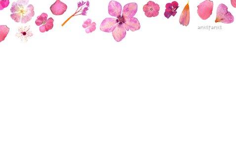 Verjaardag roze bloemen 2