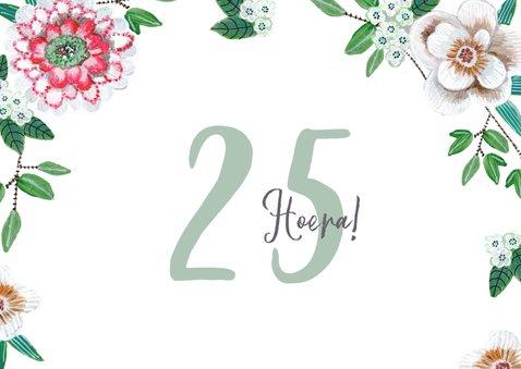 Verjaardagsfeestje 25 jaar Botanisch bloemen 2