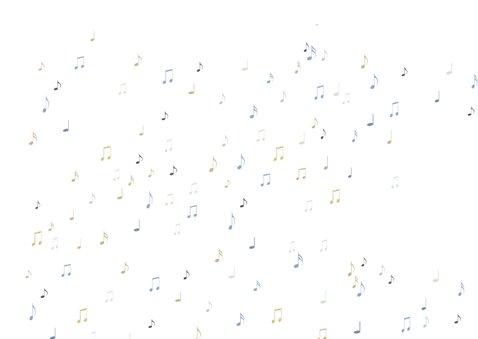Verjaardagskaart HY blauw met orkest 2