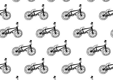 Verjaardagskaart kleine fietsjes met foto 2