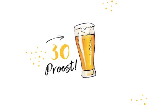 Verjaardagskaart man biertjes 1,5 meter corona humor 2