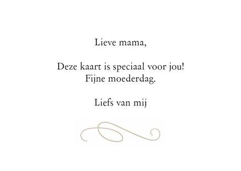 Voor mijn liefste moeder 3