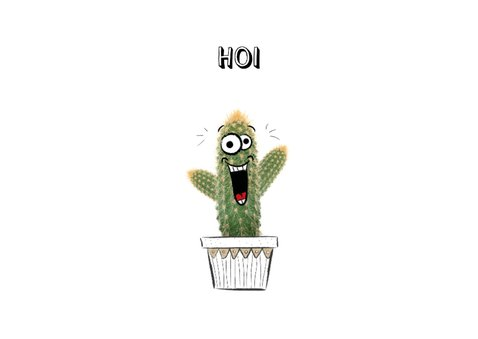 Vriendschapskaart met cactussen for someone special!  2
