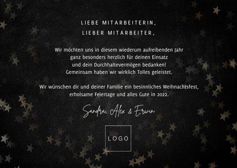 Weihnachtskarte 'Danke, Ihr Helden!' 3