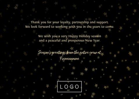 Weihnachtskarte geschäftlich Fotocollage Merry Christmas 3