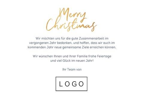 Weihnachtskarte Kunden und Partner Fotocollage 3