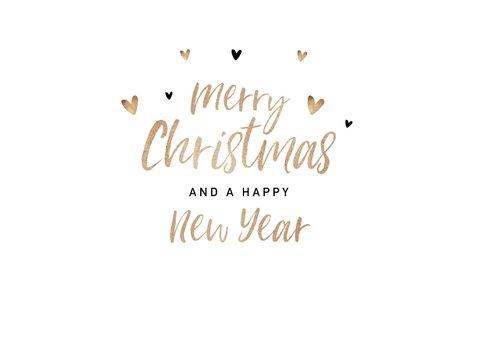 Weihnachtskarte mit Fotocollage und Handlettering 2