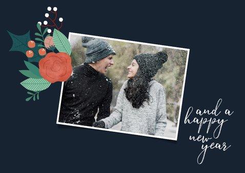 Weihnachtskarte Reh 'Merry Christmas' 2