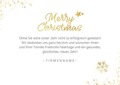 Weihnachtskarte viele Fotos geschäftlich Merry Christmas 3