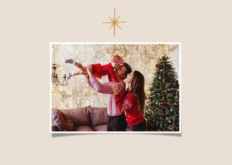 Weihnachtskarte Weihnachtskrippe Stall von Bethlehem 2
