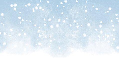 Winterliche Einladung zur Weihnachtsfeier 2