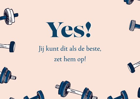 You've got this fitness gewichtjes 3