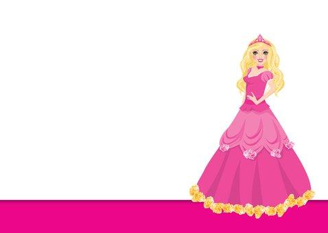 YVON barbie eigen foto uitnodiging 3