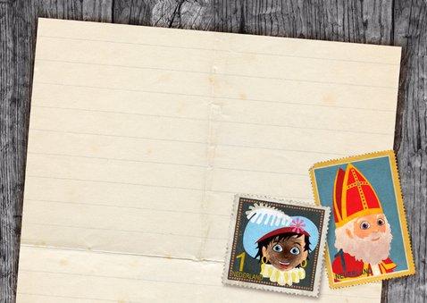 YVON brief van sinterklaas rh post 3