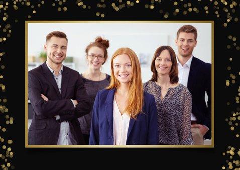 Zakelijke corona kerstkaart - bedankje personeel of relaties 2