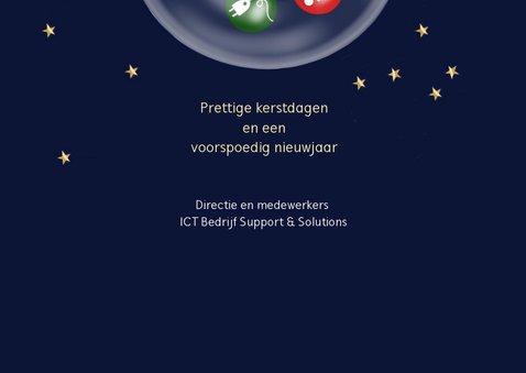 Zakelijke kerst - Kerstballen met ICT pictogrammen 3