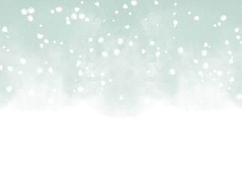 zakelijke kerstkaart Warm Wishes met waterverf en sneeuw 2