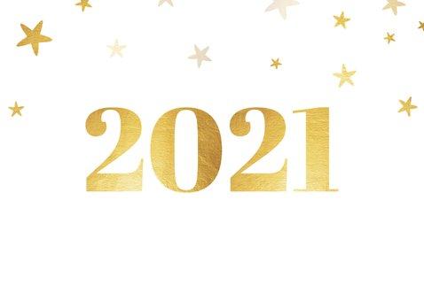 Zakelijke nieuwjaarskaart 2021 met logo ruit en sterren 2
