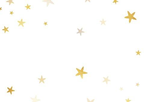 Zakelijke nieuwjaarskaart 2021 met logo ruit en sterren Achterkant