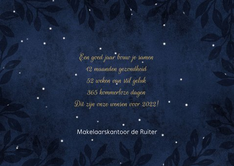 Zakelijke nieuwjaarskaart Cheers to a new year! 3
