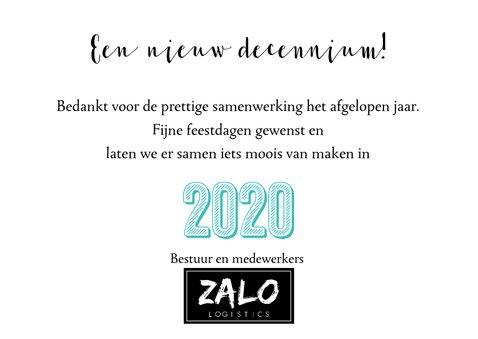 Zakelijke nieuwjaarskaart twentytwenty 2020 3
