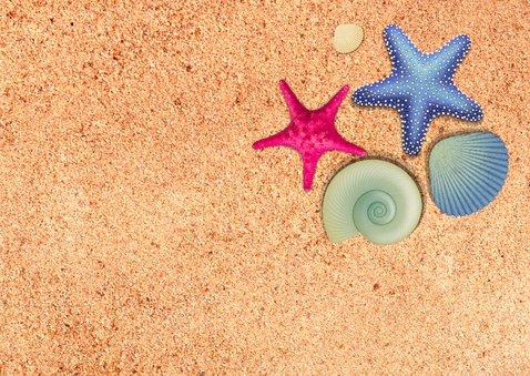 zeesterren vakantiekaart 2