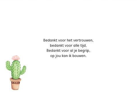 Zomaarkaart cactus 3