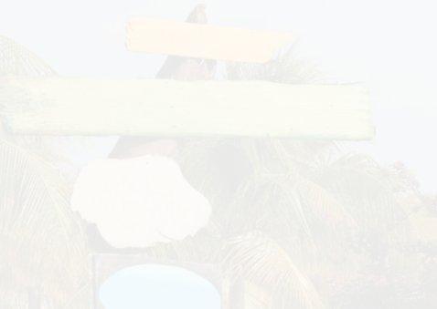 Zomerse uitnodiging palm hout L 2