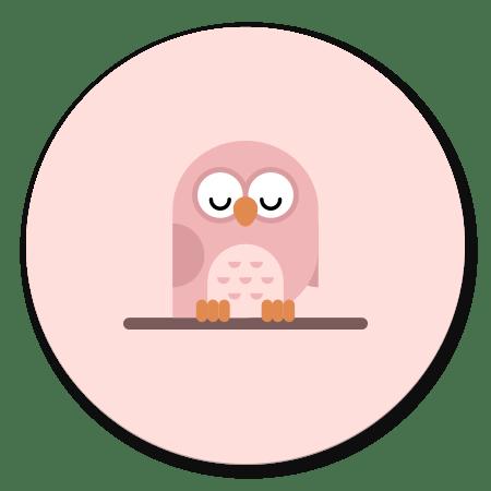 Roze uiltje