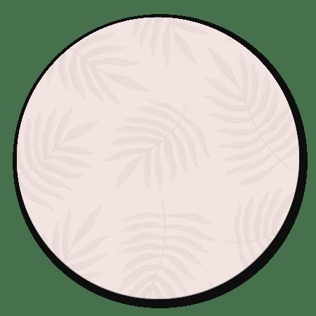 Botanisch patroon trendy roze