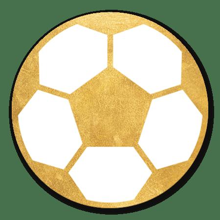Voetbal goud