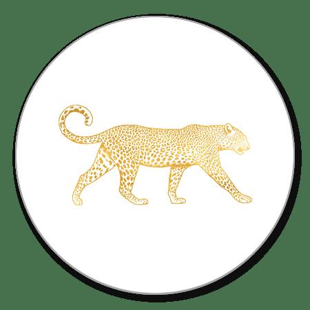 Leopard goud