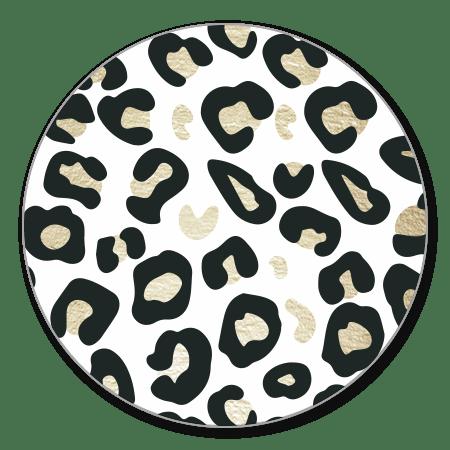 Panterprint goudlook stijlvol beige