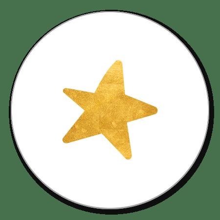 Gouden ster