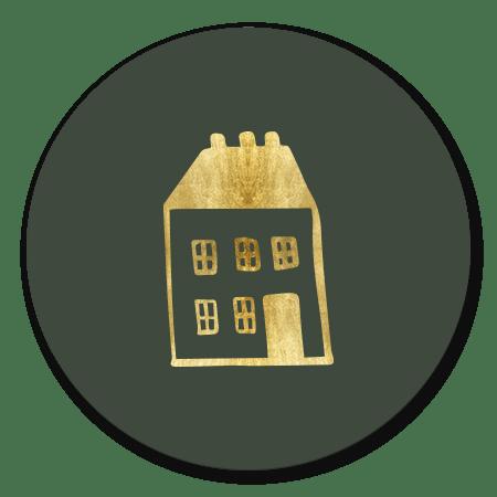 Gouden huisje