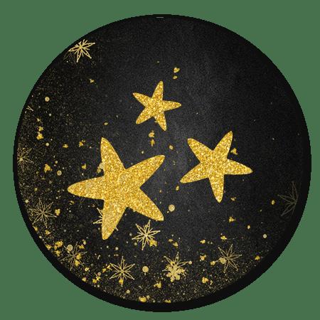 Glitter sterren