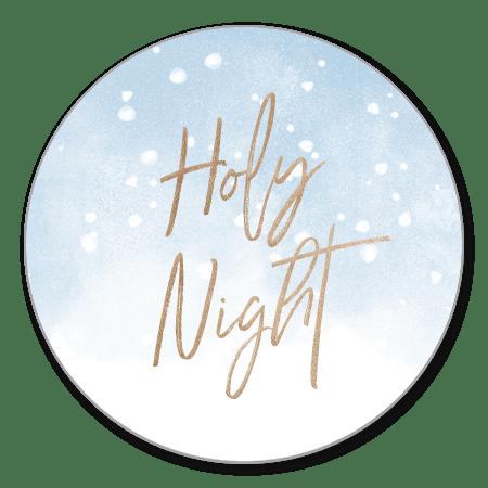 Holy night blauw