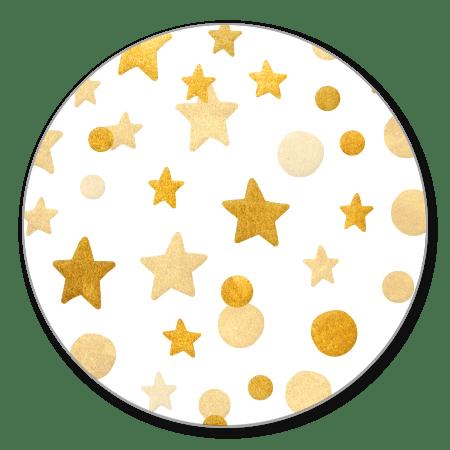 Gouden sterren en confetti
