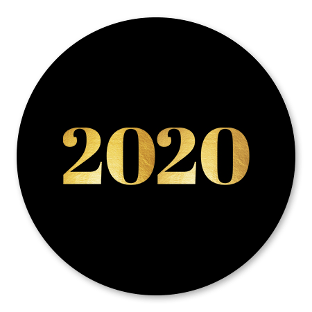 2020 zwart