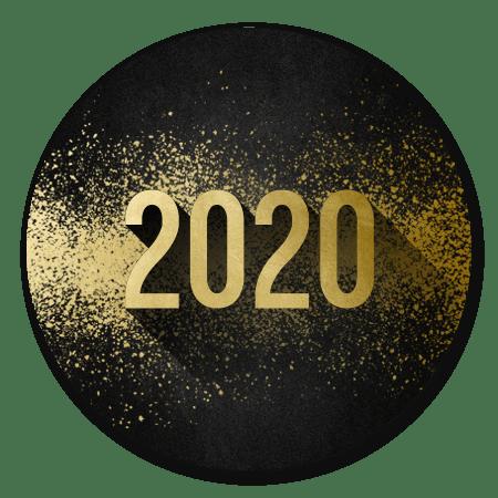 2020 goudlook met spetters