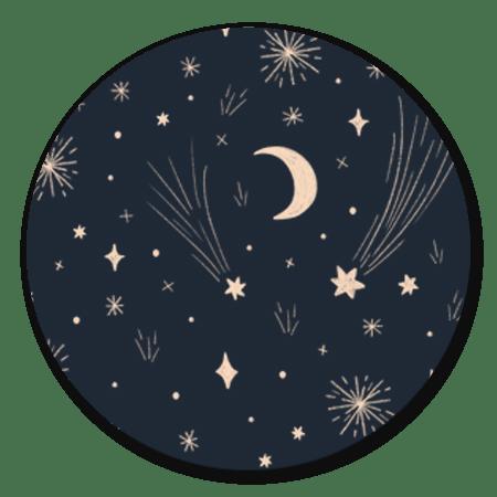 Vuurwerk en sterren
